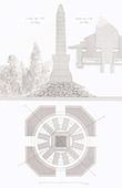 Franco-Prussian War 1870 - War memorial - Saint-Germain-en-Laye - Architect Ch. Fauconnier (France)