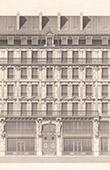 Maison Rue du Pont-Neuf � Paris - Architecte E. Legrand (France)