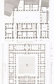 City Hall of Valenciennes - Nord-Pas-de-Calais - Plans - Restoration - Architect M. Batigny (France)