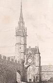 Tour de l'Horloge à Auxerre (Yonne - France)