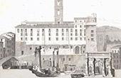 Tabularium - Forum Romain - Forum Romanum - Architecte M. Moyaux (Italie)