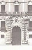 Porte principale d'un Palais � Naples - Architecte M. Guadet (Italie)