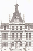 City Hall - 3th Arrondissement of Lyon - Architect A. Coquet (France)