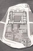Tabularium - Romisches Forum - Forum Romanum - Plan - Architekt M. Moyaux (Italien)