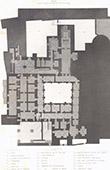Latin convent of Bethlehem - Plan - West Bank (Palestine)