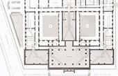 Le Havre Courthouse - Seine-Maritime - Plan - Architect M. Bourdais (France)