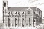 Church of Oloron-Sainte-Marie - Pyr�n�es-Atlantiques - Architect Auguste Lafollye (France)