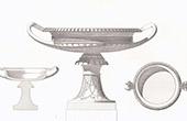 Pompei gefundene Vase - Architekt M. Moyaux (Italien)