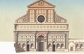 Basilica of Santa Maria Novella in Florence (Italy)