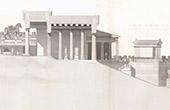 Propylon - Akropolis in Athen - Antikes Griechenland - Restaurierung - Architekt M. Boitte (Griechenland)