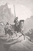Don Quixote by Gustave Dor� - Chapter VII - The second sally of our worthy knight Don Quixote of la Mancha 2/2