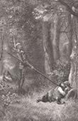 Don Quichotte par Gustave Dor� - Chapitre XX - Les noces de Camache le riche et l�aventure de Basile le pauvre 1/4