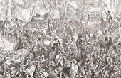 Don Quichotte par Gustave Dor� - Chapitre XX - Les noces de Camache le riche et l�aventure de Basile le pauvre 2/4