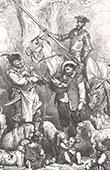 Don Quichotte par Gustave Dor� - Chapitre XX - Les noces de Camache le riche et l�aventure de Basile le pauvre 3/4