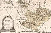 Karte - Bistum Eichst�tt mit der Freyen Reichsstadt - Weissenburg - Bayern (Deutschland)