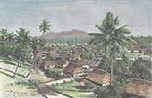 Vy �ver Manado - C�l�bes - Sulawesi (Indonesien)
