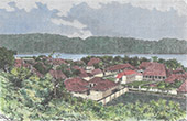 Moluckerna - Banda Neira - Lonthoir - Groot-Banda (Indonesien)