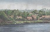 Landskap i Borneo n�stan Sarawak - Sunda�arna (Insulind)
