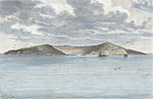 View of Saint Paul Island (French Southern and Antarctic Lands)