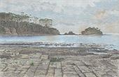 Ansicht von die Tasman-Halbinsel - Tasmanien (Australien)