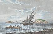 Ansicht von Port Moresby (Papua-Neuguinea)