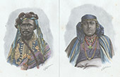 Grande Comore - Portraits - Sa�d Ali, Sultan - Princess (Comoro Islands)