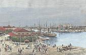 Hafene in Manila (Philippinen))