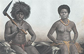 New Caledonia - Kanak - Man and Woman (France)