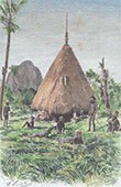 Dwelling of a Kanak Chief  - New Caledonia (France)