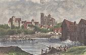 View of Bourges - Centre-Val de Loire - Cher (France)
