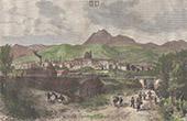 Vue de Clermont-Ferrand - Auvergne-Rh�ne-Alpes - Puy-de-D�me (France)