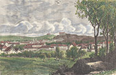 Vue de Belfort - Bourgogne-Franche-Comt� - Territoire de Belfort (France)