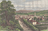 View of Aurillac - Auvergne-Rh�ne-Alpes - Cantal (France)
