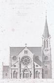 �glise Saint-Martin d'Aillant-sur-Tholon - Bourgogne - Yonne (France)