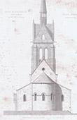 Church of Fontenailles - �le-de-France - Seine-et-Marne (France)