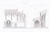 Saint-Gimer Church in Carcassonne - Languedoc-Roussillon-Midi-Pyr�n�es - Aude (France)