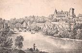 Pau Castle and part of the town - Aquitaine-Limousin-Poitou-Charentes - Pyr�n�es-Atlantiques (France)