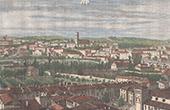 View of Carcassonne - Cité de Carcassonne - Languedoc-Roussillon - Aude (France)