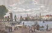 View of La Rochelle - Port - Poitou-Charentes - Charente-Maritime (France)