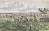 Ansicht von Melbourne - Victoria (Australien)