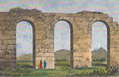 Carthage - Ruins of an ancient Aqueduct (Tunisia)