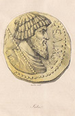 Medalha - Juba I - Cartago - Numídia