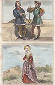 Portr�t von Peire Cardenal - Trobador - Agn�s de Loisy - Massier - Sergent d'Armes
