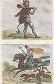 Germanic Peoples - Soldier - Warrior - Rider - Horseman - Vth Century (Germania)