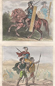 Germanic Peoples - Suebi - Rider - Frank Chief  - Vth Century