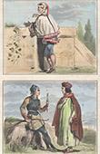 Portraits - Costume - XIIIth Century - Jean de Joinville - Renaud de Saint Vincent - Costume of Bowmen