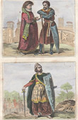 Portraits - Costume - XIIth Century - Warrior - Count - Geoffrey Plantagenet - Count of Anjou - The Handsome