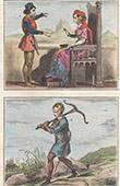 Portr�t - Tracht - XIII. Jahrhundert - Marguerite de Bar (1220-1275) - Sergent de pied - Armbrustsch�tze