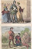 Portr�ten - Tracht - XV. Jahrhundert - Ralph Neville 1. Earl of Westmorland - Jeanne Beaufort - J�ger