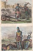 Portr�ten - Tracht - XIV. Jahrhundert - England - Milit�rkleidung - Artillerie - Edward of Woodstock